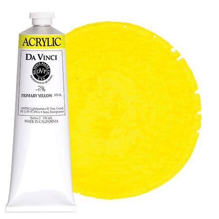 <!--(03)--> Primary Yellow (150mL HB Acrylic)