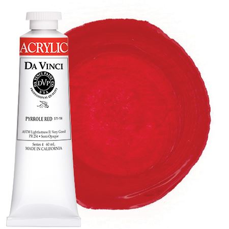 <!--(16)--> Pyrrole Red (60mL HB Acrylic)