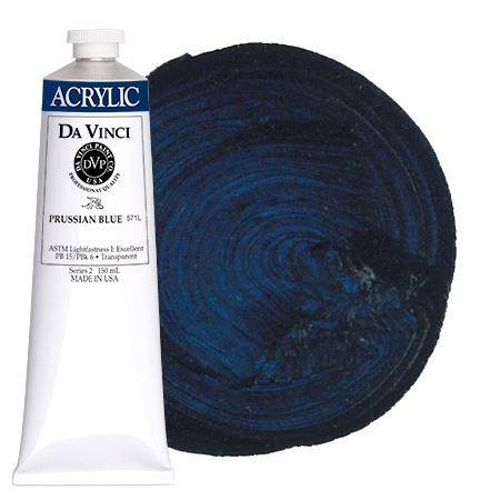 <!--(32)--> Prussian Blue (150mL HB Acrylic)