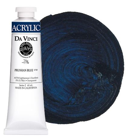 <!--(32)--> Prussian Blue (60mL HB Acrylic)
