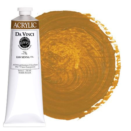 <!--(51)--> Raw Sienna (150mL HB Acrylic)