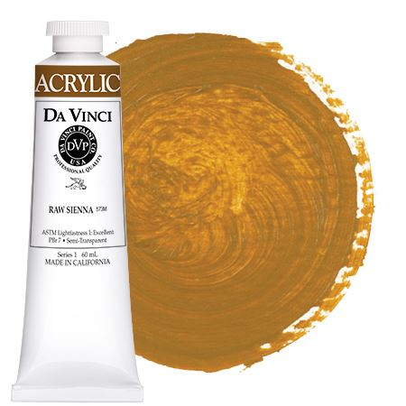 <!--(51)--> Raw Sienna (60mL HB Acrylic)