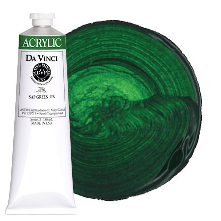 <!--(47)--> Sap Green (150mL HB Acrylic)