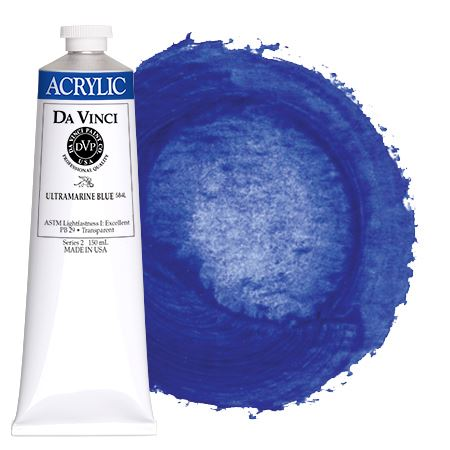 <!--(34)--> Ultramarine Blue (150mL HB Acrylic)