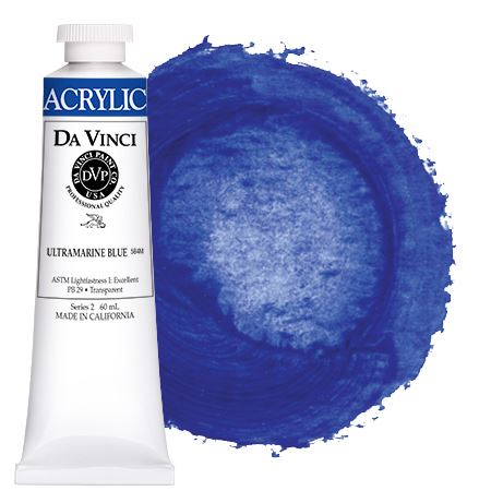 <!--(34)--> Ultramarine Blue (60mL HB Acrylic)