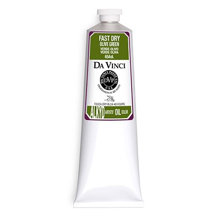 (43) Olive Green (150mL Fast Dry Oil Paint)