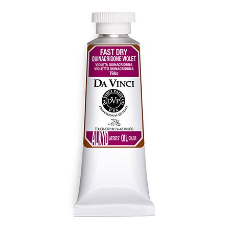 (22) Quinacridone Violet (37mL Fast Dry Oil Paint)