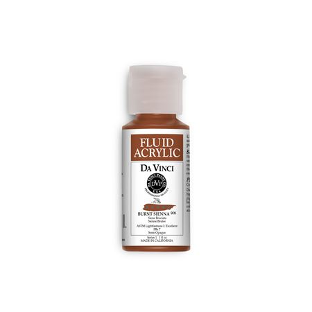 (44) Burnt Sienna (1oz Fluid Acrylic)