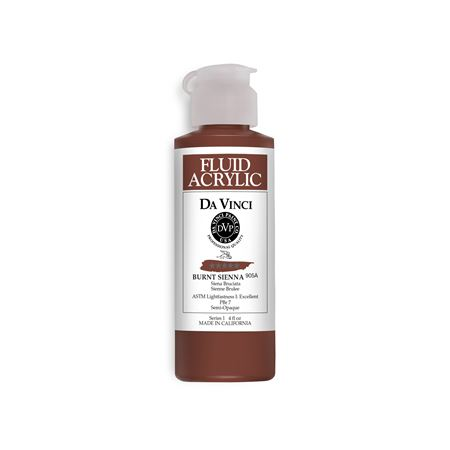 (44) Burnt Sienna (4oz Fluid Acrylic)
