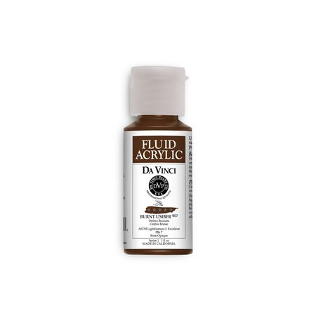 (45) Burnt Umber (1oz Fluid Acrylic)