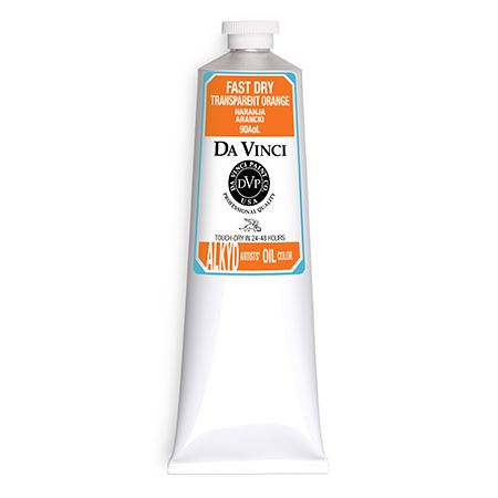 (13) Transparent Orange (150mL Fast Dry Oil Paint)