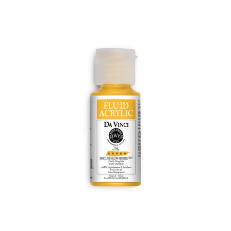 (07) Diarylide Yellow (Mixture) (1oz Fluid Acrylic)