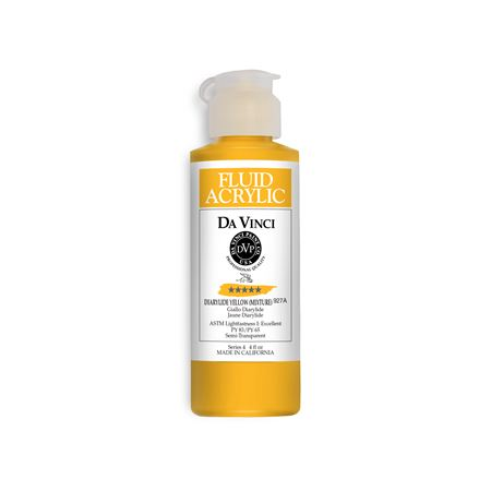 (07) Diarylide Yellow (Mixture) (4oz Fluid Acrylic)