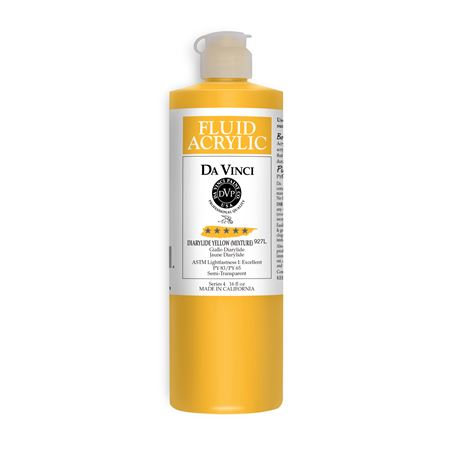(07) Diarylide Yellow (Mixture) (16oz Fluid Acrylic)