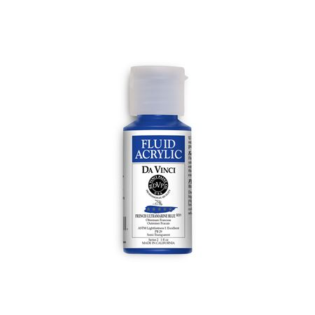 (22) French Ultramarine Blue (1oz Fluid Acrylic)