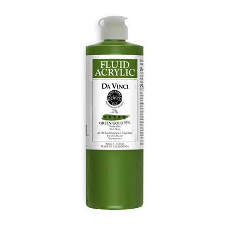 (35) Green Gold (16oz Fluid Acrylic)