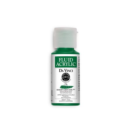 (33) Hooker's Green Dark (1oz Fluid Acrylic)