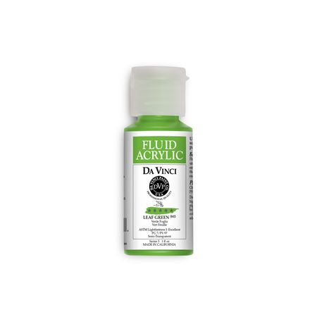 (36) Leaf Green (1oz Fluid Acrylic)
