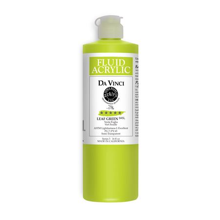 (36) Leaf Green (16oz Fluid Acrylic)