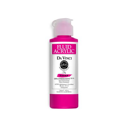 (18) Opus Permanent (4oz Fluid Acrylic)