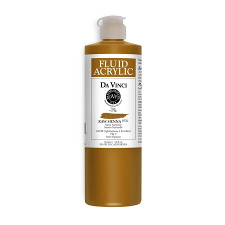 (39) Raw Sienna (16oz Fluid Acrylic)