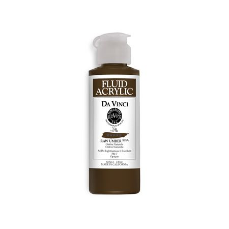 (46) Raw Umber (4oz Fluid Acrylic)