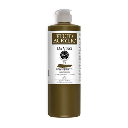 (46) Raw Umber (16oz Fluid Acrylic)