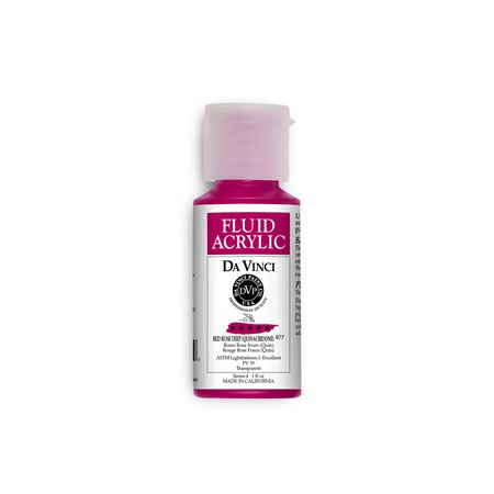 (14) Red Rose Deep (1oz Fluid Acrylic)