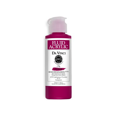 (14) Red Rose Deep (4oz Fluid Acrylic)