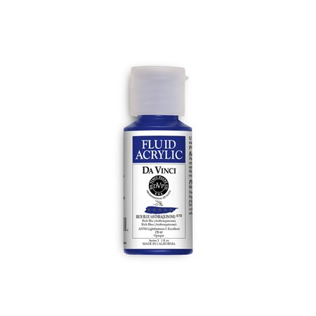 (21) Rich Blue (1oz Fluid Acrylic)