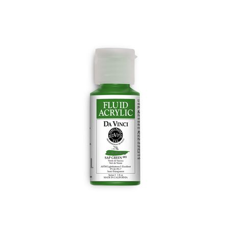 (34) Sap Green (1oz Fluid Acrylic)