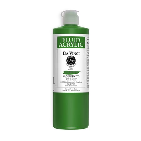 (34) Sap Green (16oz Fluid Acrylic)