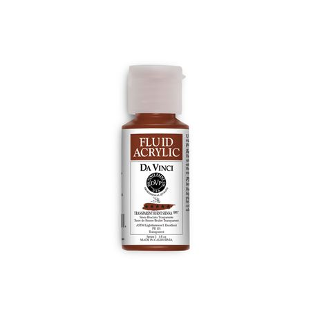 (41) Transparent Burnt Sienna (1oz Fluid Acrylic)