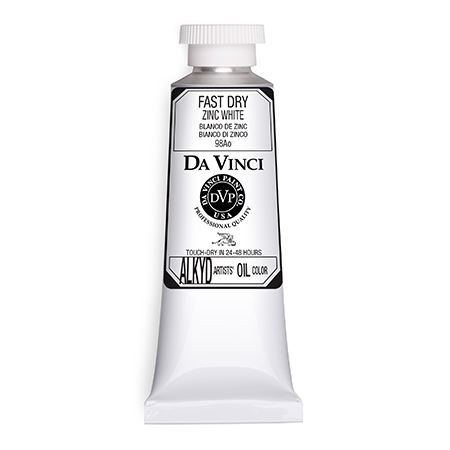 (60) Zinc White (37mL Fast Dry Oil Paint)