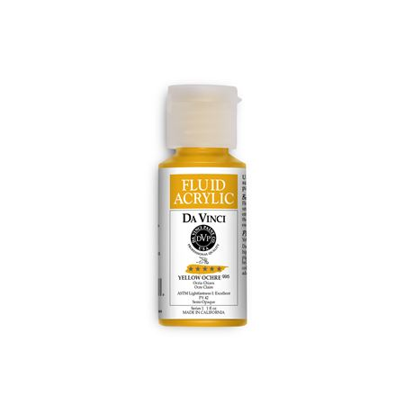 (37) Yellow Ochre (1oz Fluid Acrylic)