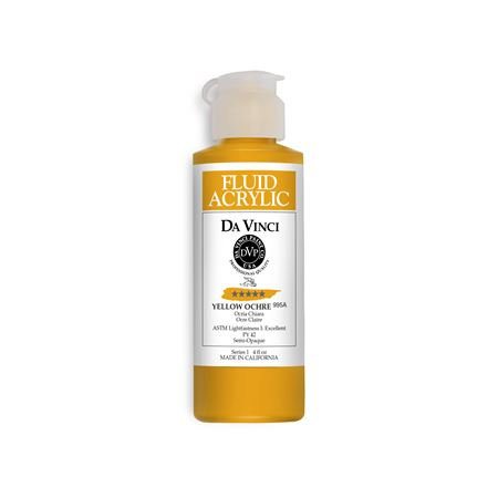 (37) Yellow Ochre (4oz Fluid Acrylic)