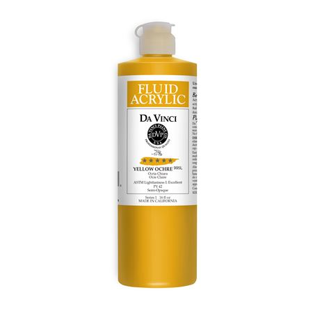 (37) Yellow Ochre (16oz Fluid Acrylic)