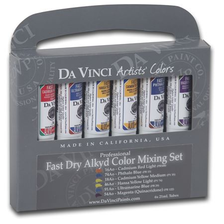 Alkyd Fast Dry Color Mixing Set