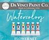 Watercolor Flowers Palette