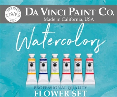 <!(--0004)--> Watercolor Flower Set