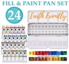 <!(--0001)--> Denise's Earth Friendly Fill & Paint Watercolor Palette
