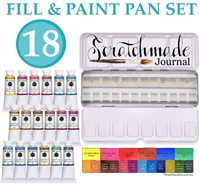 <!(--0001)--> Scratchmade Fill & Paint Watercolor Palette