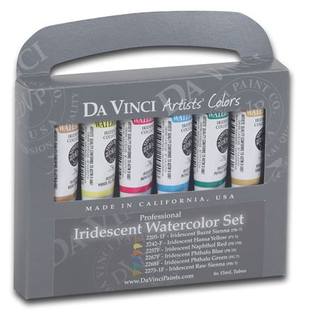 Watercolor Iridescent Set