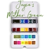 <!(--#01)--> Joyce's Mother Green Da Vinci Watercolor Palette
