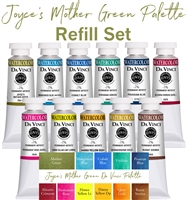 <!(--#001)--> Joyce's Mother Green Watercolor Refill Set
