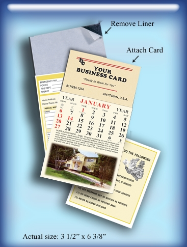 Real estate magnet calendars reheart Choice Image