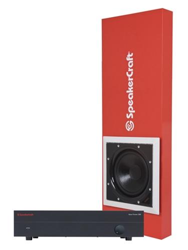 In Wall Subwoofer >> Speakercraft Cinema Sub 12 System Powered In Wall Subwoofer System