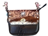 Enchanted Garden Double Pocket Prem Hip Bag