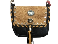 White Diamond Double Pocket Super Prem Hip Bag