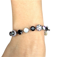 Mariana Crystal and Stone Bracelet